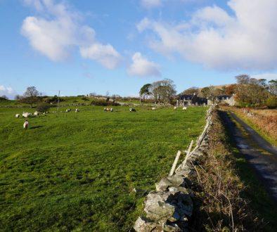 Route de Cornamona, pays de Joyce, Irlande