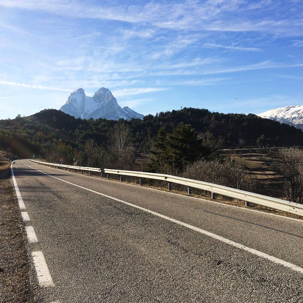 Sur la route de Pedraforca