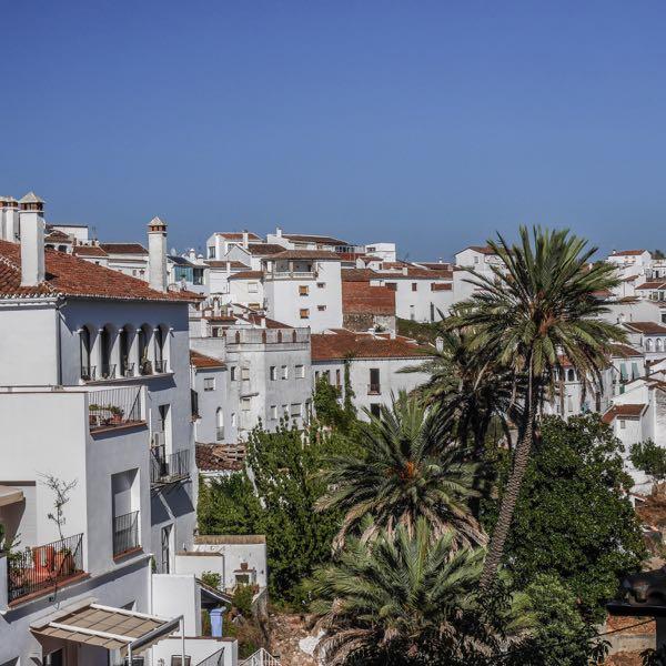 Village blanc de Gaucin en Espagne