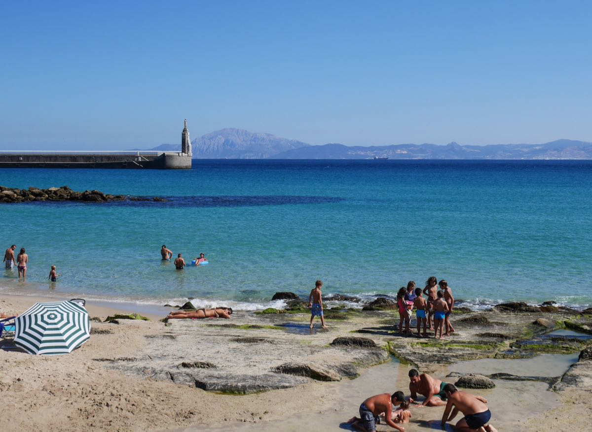 Sur la plage de Tarifa