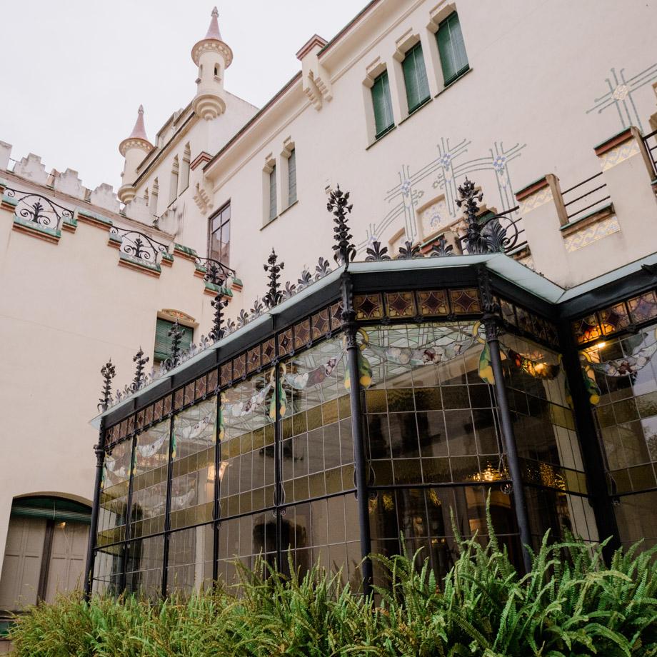 Casa moderniste de Terrassa en Catalogne
