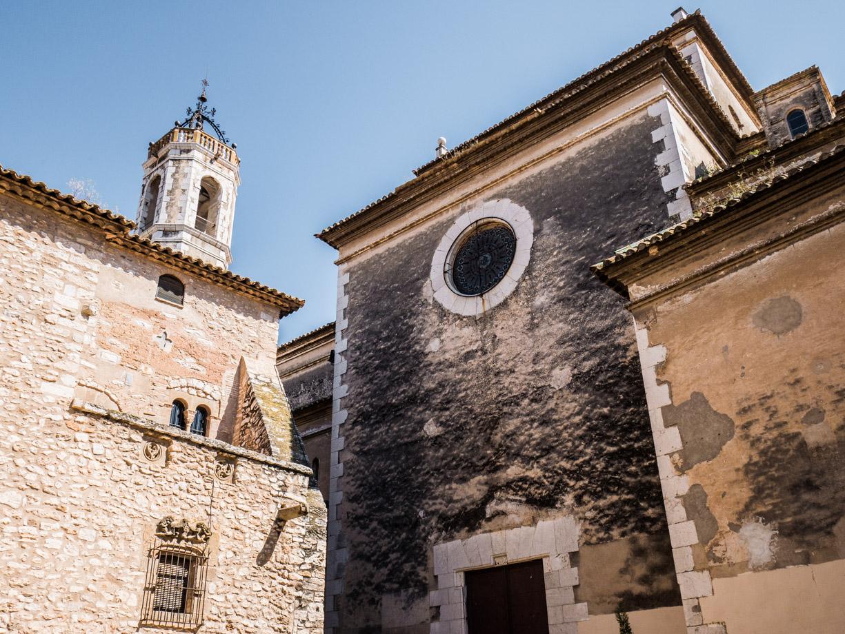 Eglise et palais de la Geltru en Catalogne