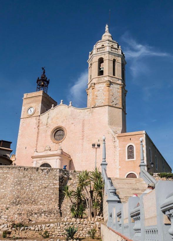 L'église de Sitges