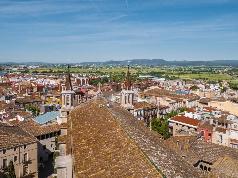 Panorama sur le Penedès depuis la cathédrale de Vilafranca