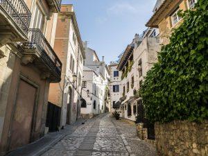 Ancienne route de Barcelone à Sitges