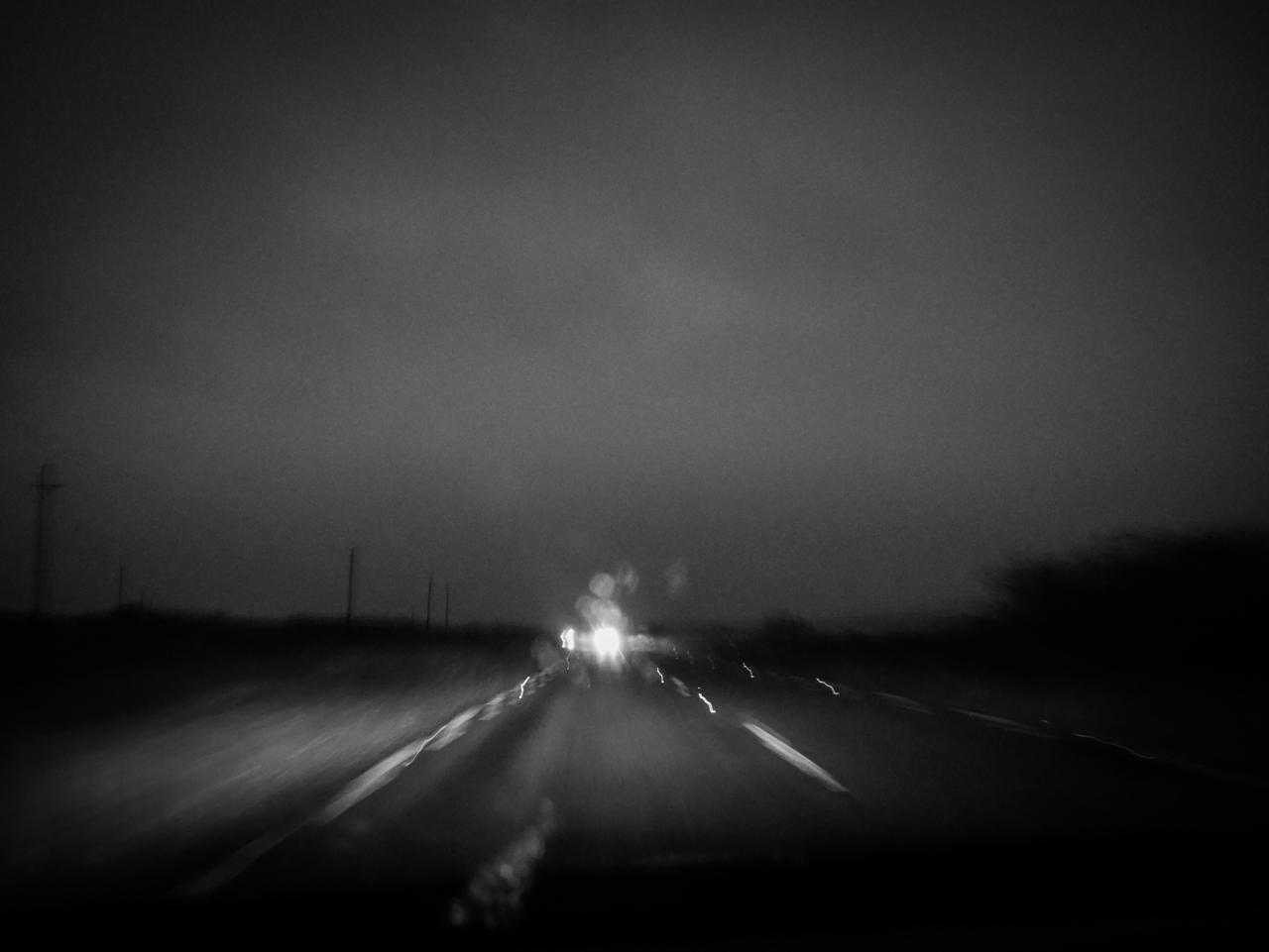 Le long de Brouillard Road en Irlande