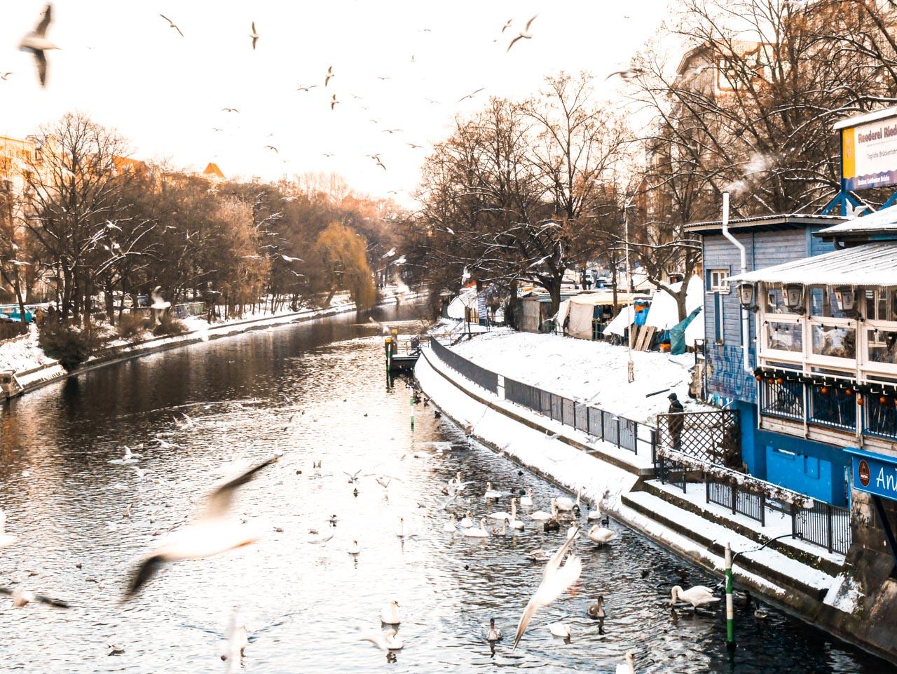 Balade le long du Lanwehrkanal à Berlin