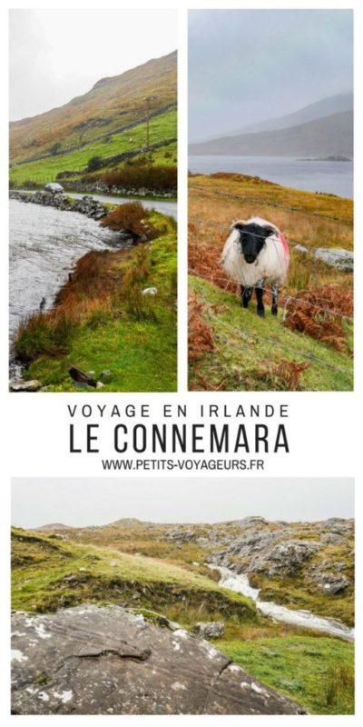 Epingle voyage dans le Connemara
