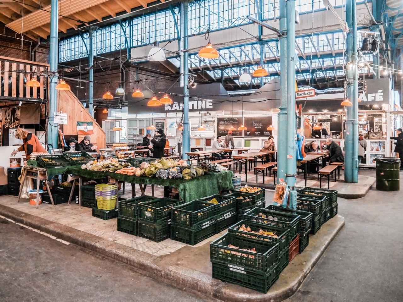 Streetfood à Berlin : la Markthalleneun