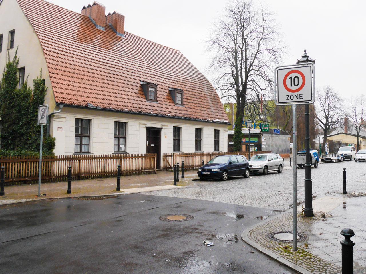 Quartier de Rixdorf à Berlin Neukölln
