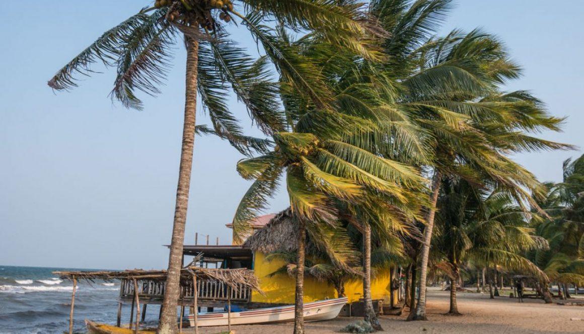 Plage de Hopkins au Belize