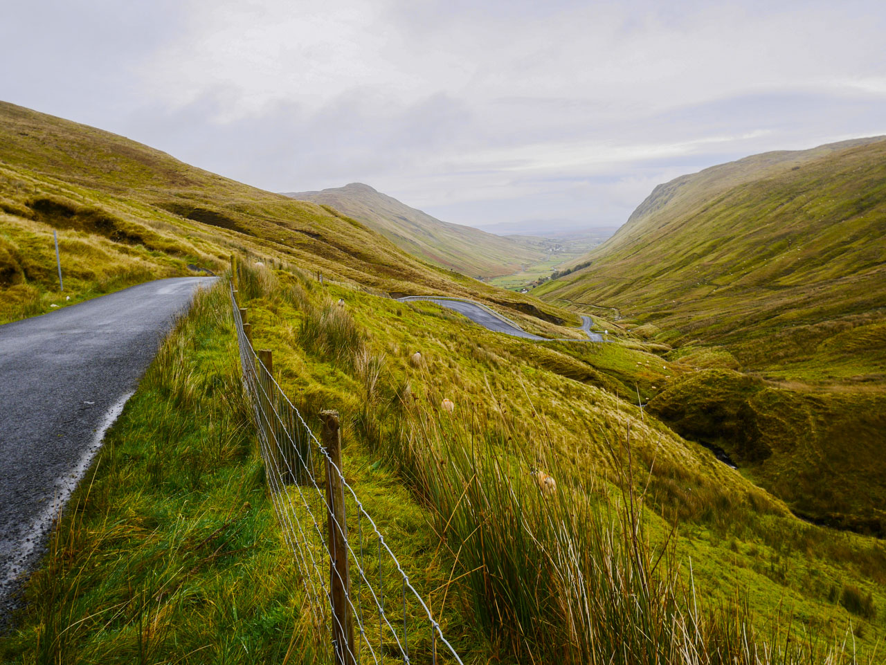 Routes irlandaises : le Glengesh Pass