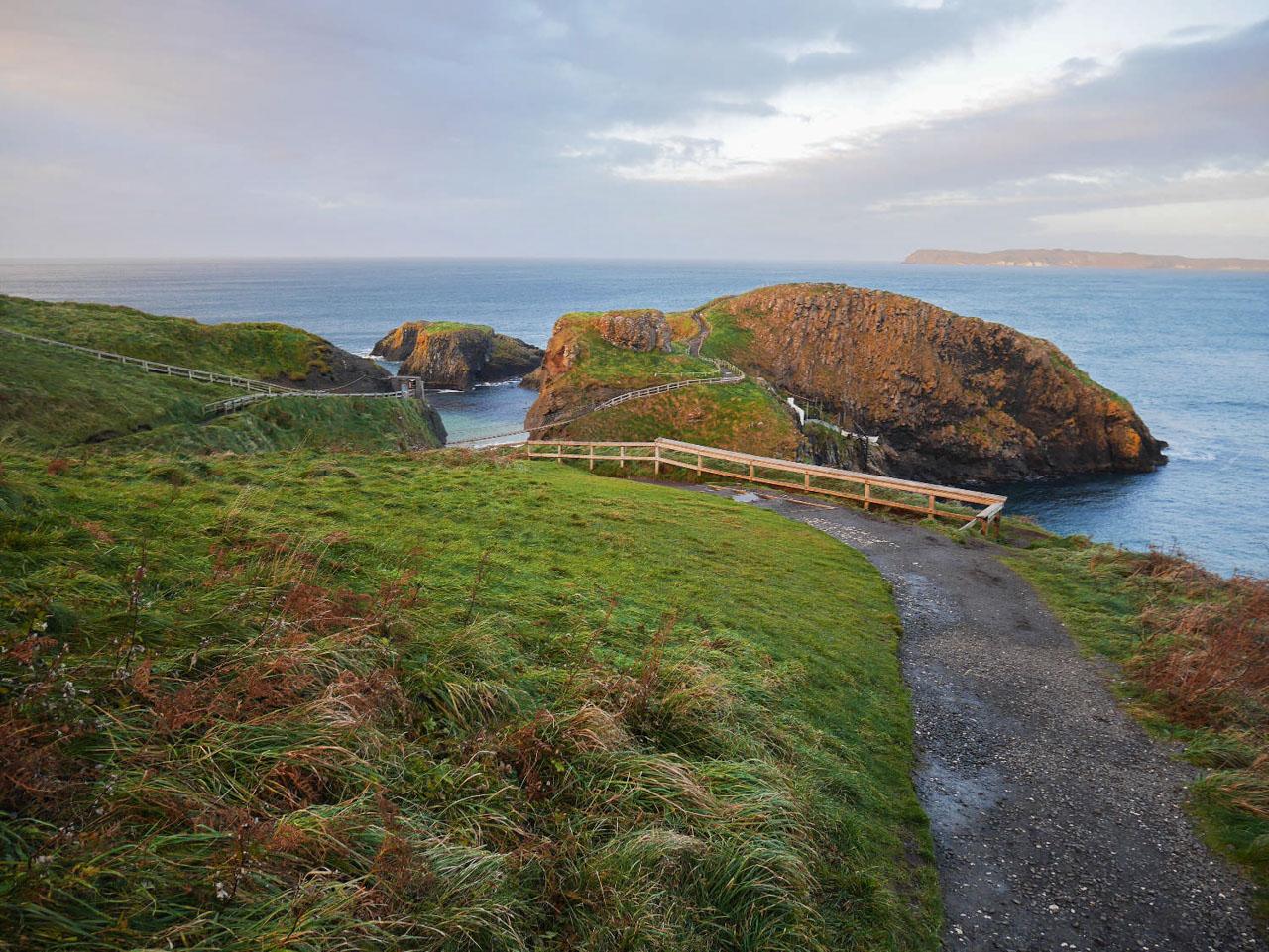 Carrick-a-Rede en Irlande du Nord