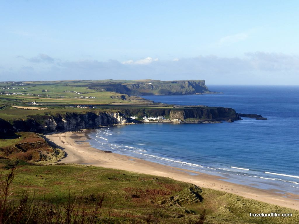 La causeway coastal route en Irlande du Nord