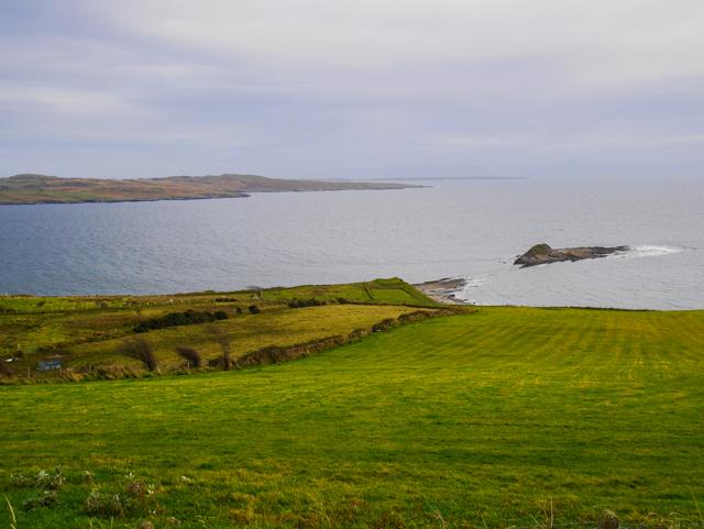 Sur les côtes d'Irlande