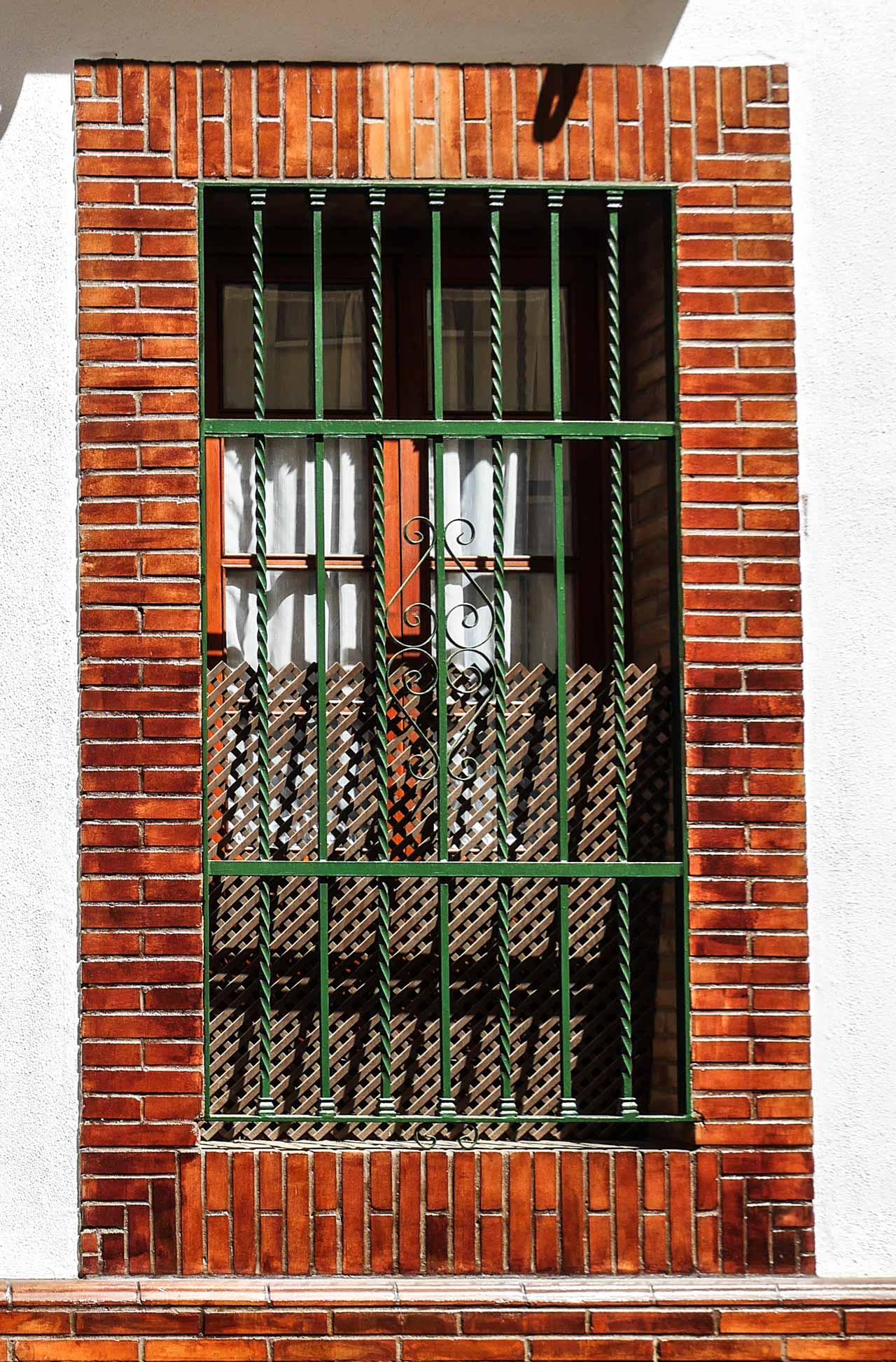 Fenêtre sur Triana à Séville
