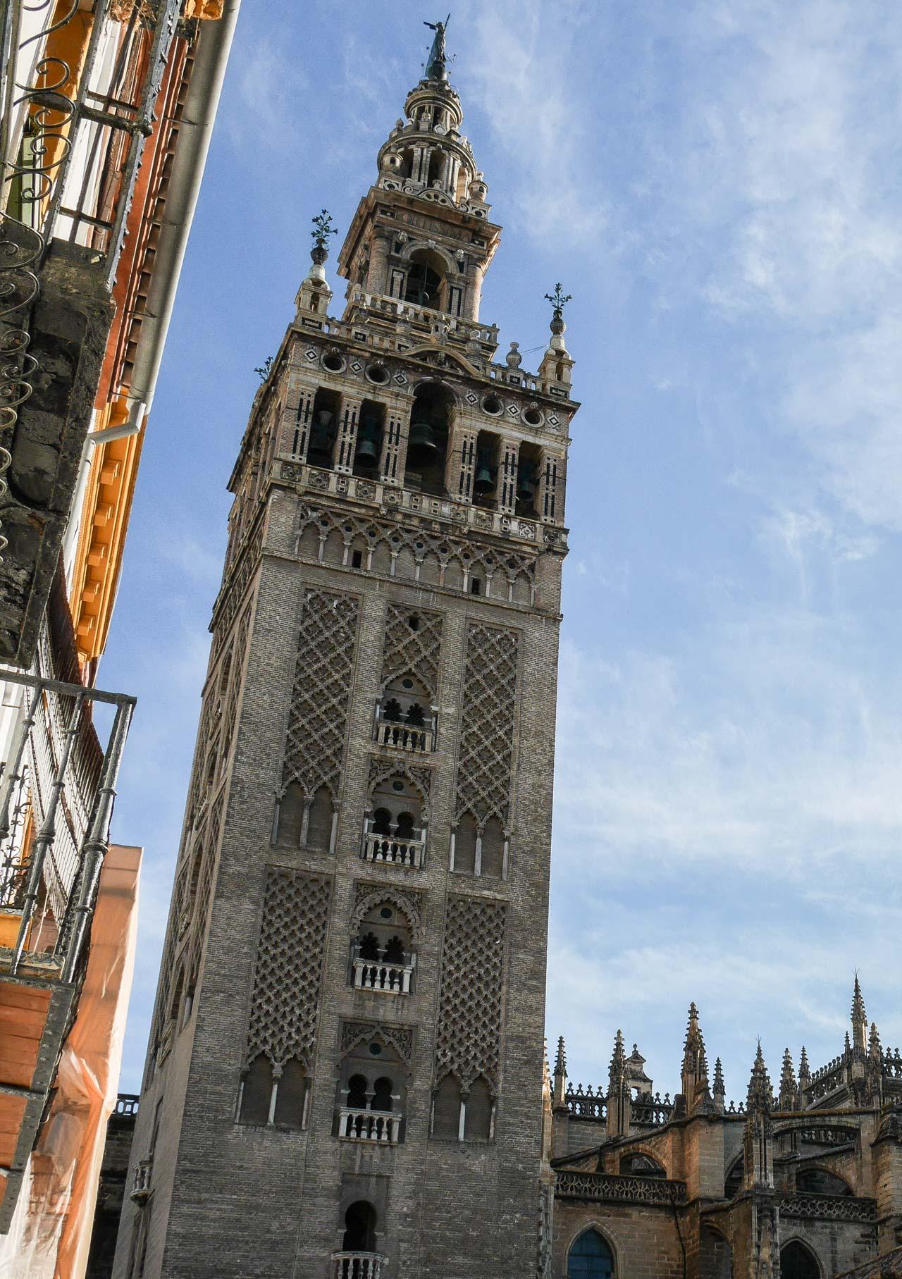 La Giralda : ancien minaret de la cathédrale de Séville