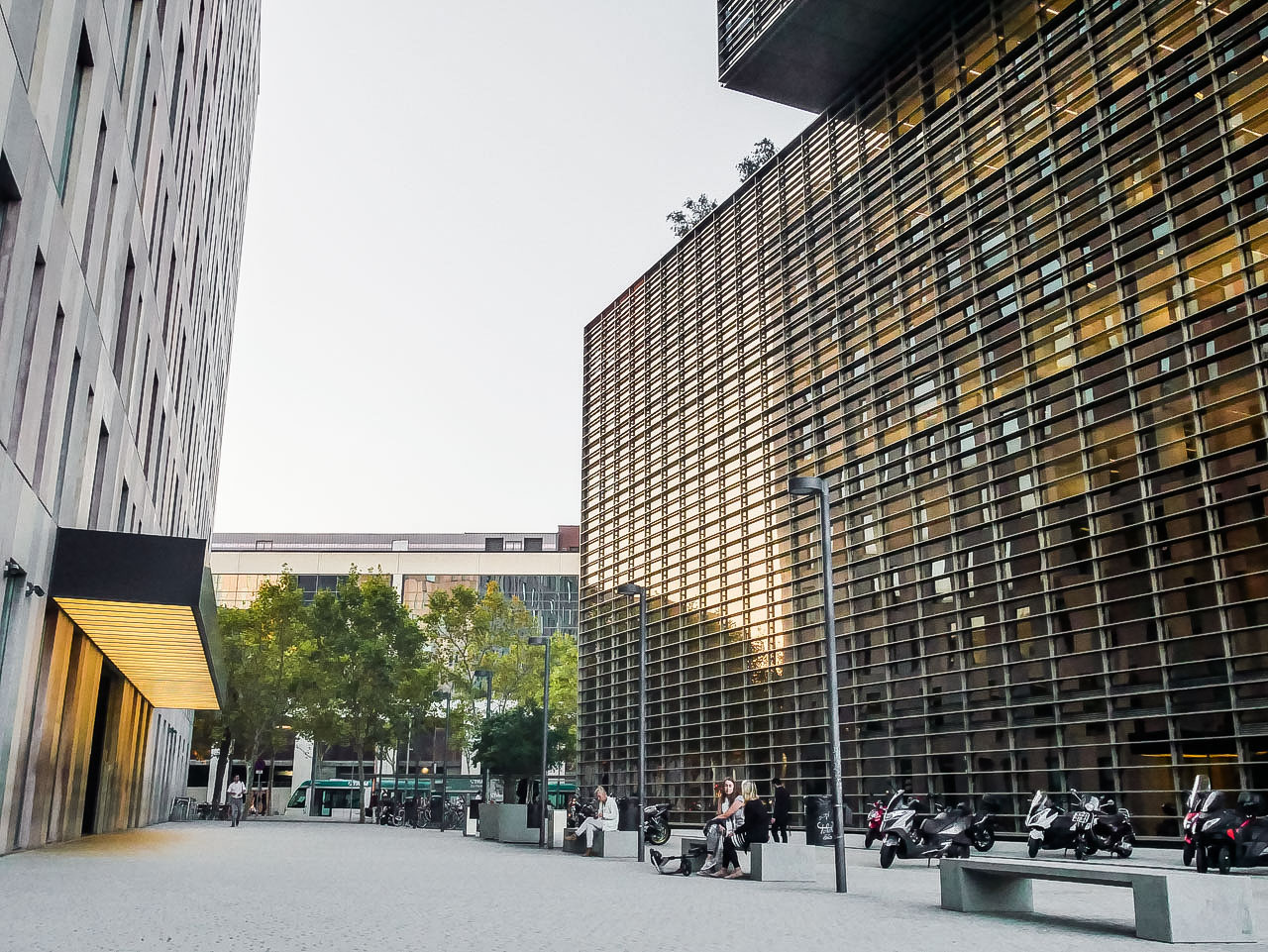 Immeuble Cuatrocases à Barcelone Poblenou
