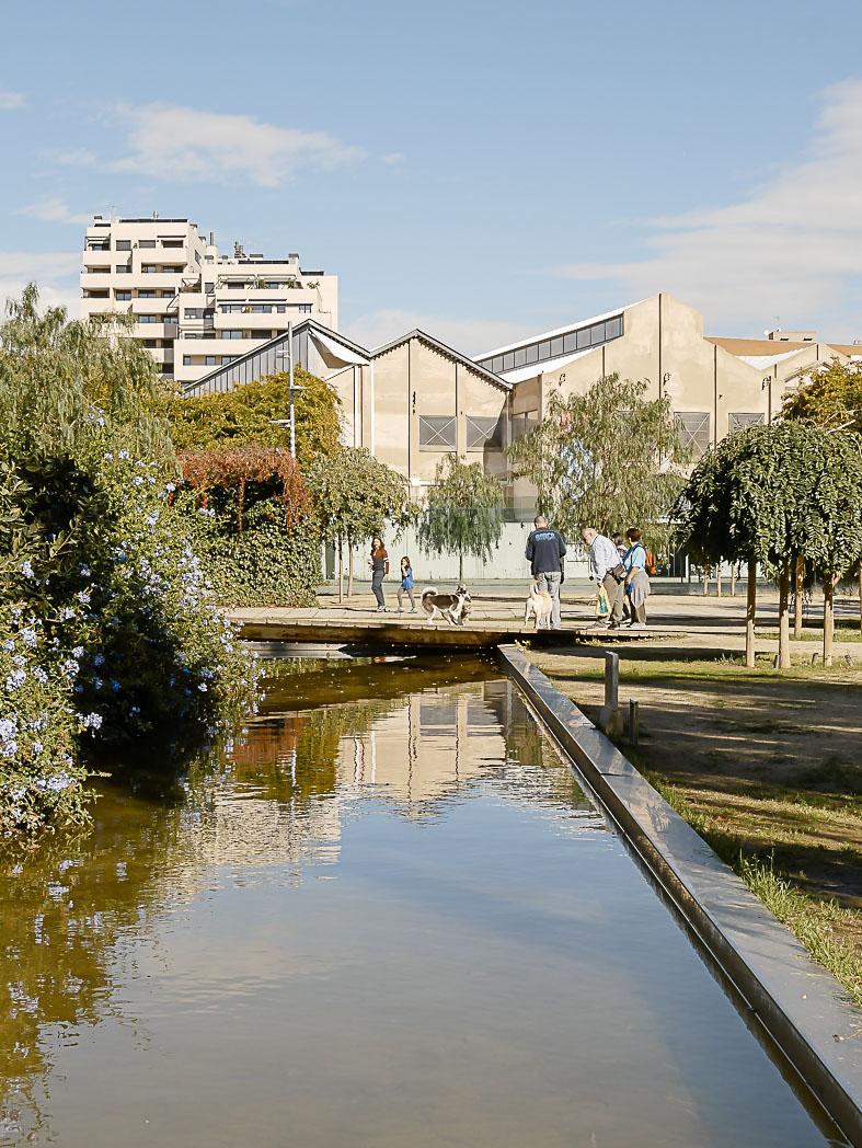 Découvrir le parc del Poblenou à Barcelone
