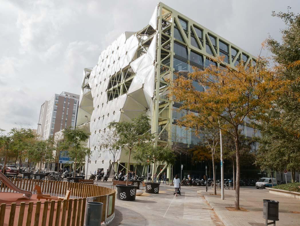 Architecture de Barcelone : l'édificio MediaTIC