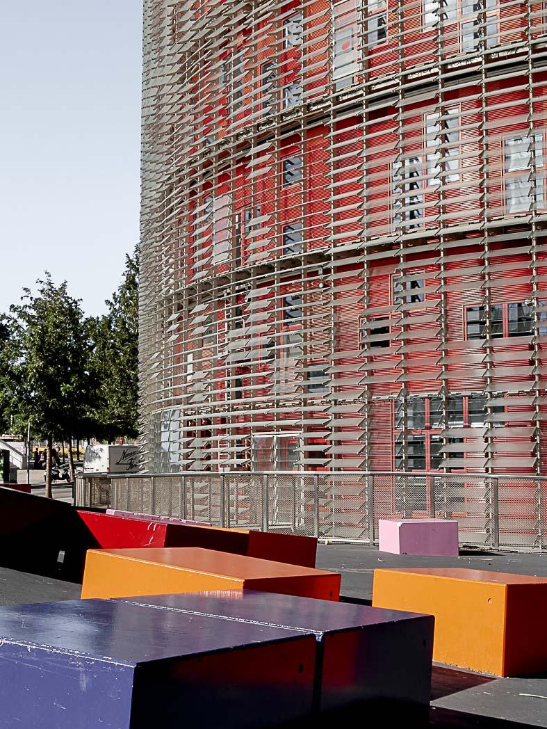Incontournable architecture de Poblenou : la torre Agbar