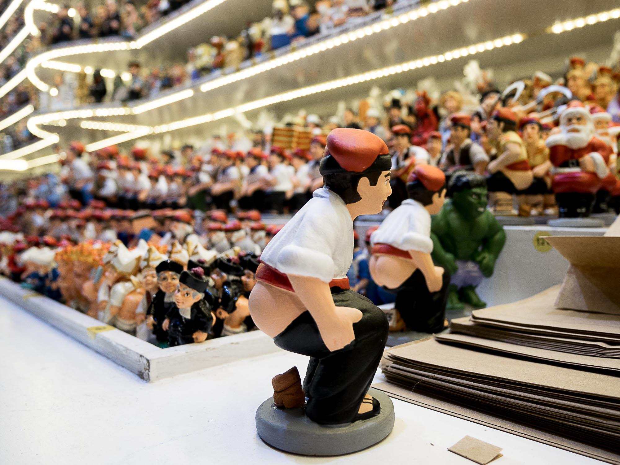 Le Caganer, la star de Noël à Barcelone