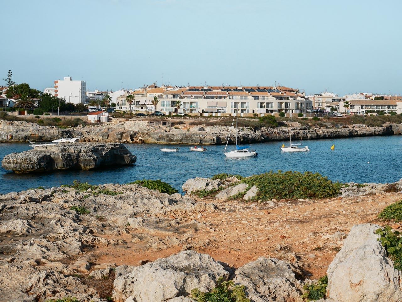Première journée de mon séjour à Minorque