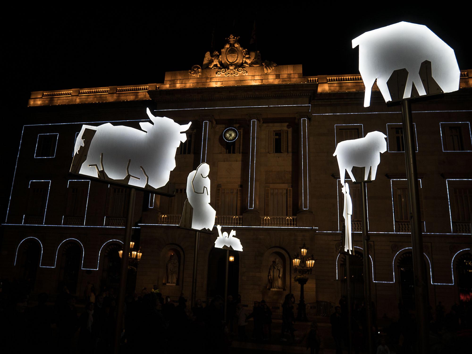 El passebre de Barcelona : la crèche de Noël catalane