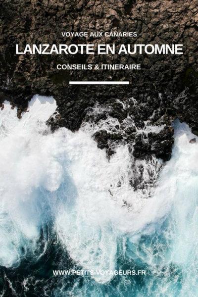 Découvrir l'île de Lanzarote au mois de novembre