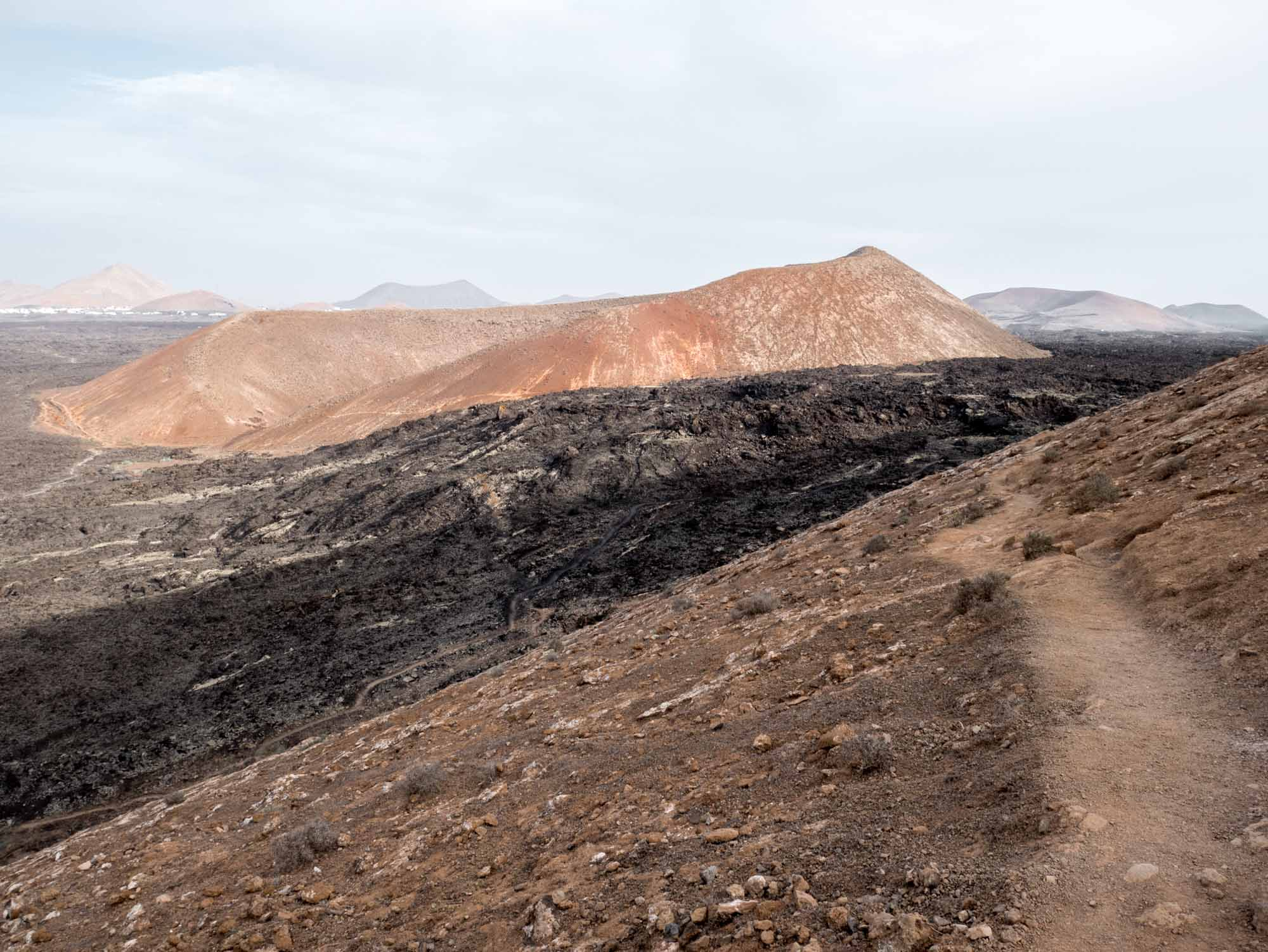 Paysage de Lanzarote au mois de novembre