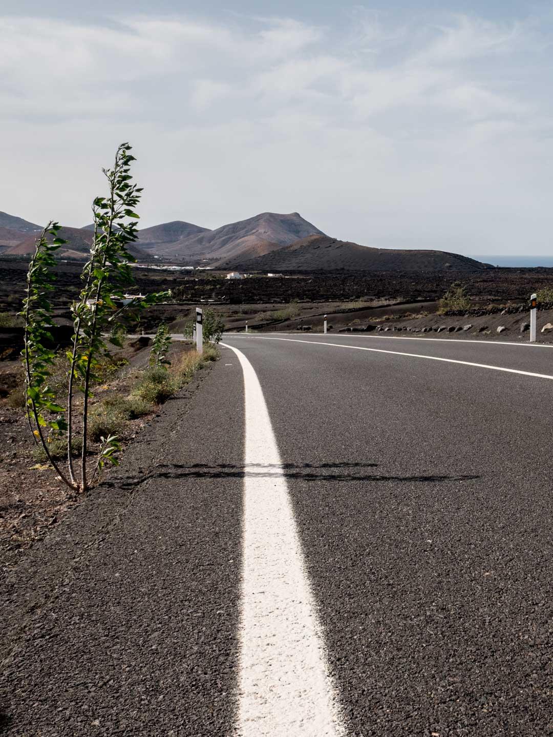 Road trip à Lanzarote en automne