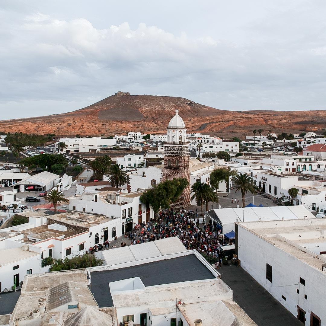 Le village de Teguise à Lanzarote