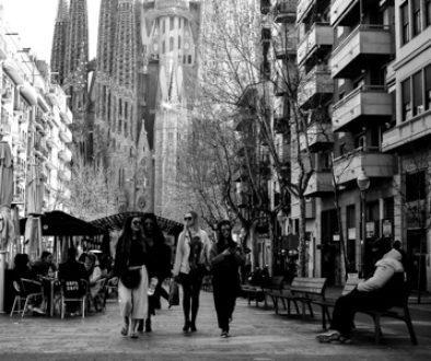 Découvrez Barcelone en noir et blanc