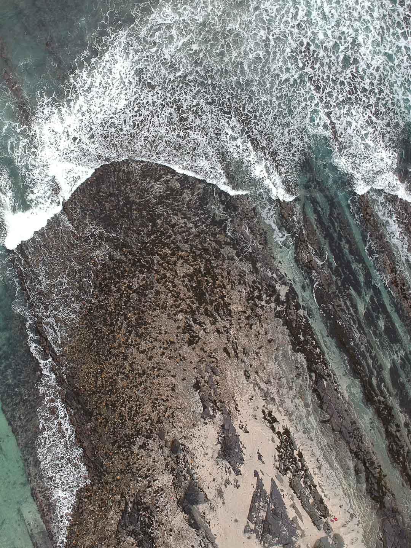 Superbe plage dans l'archipel des Orcades en Ecosse