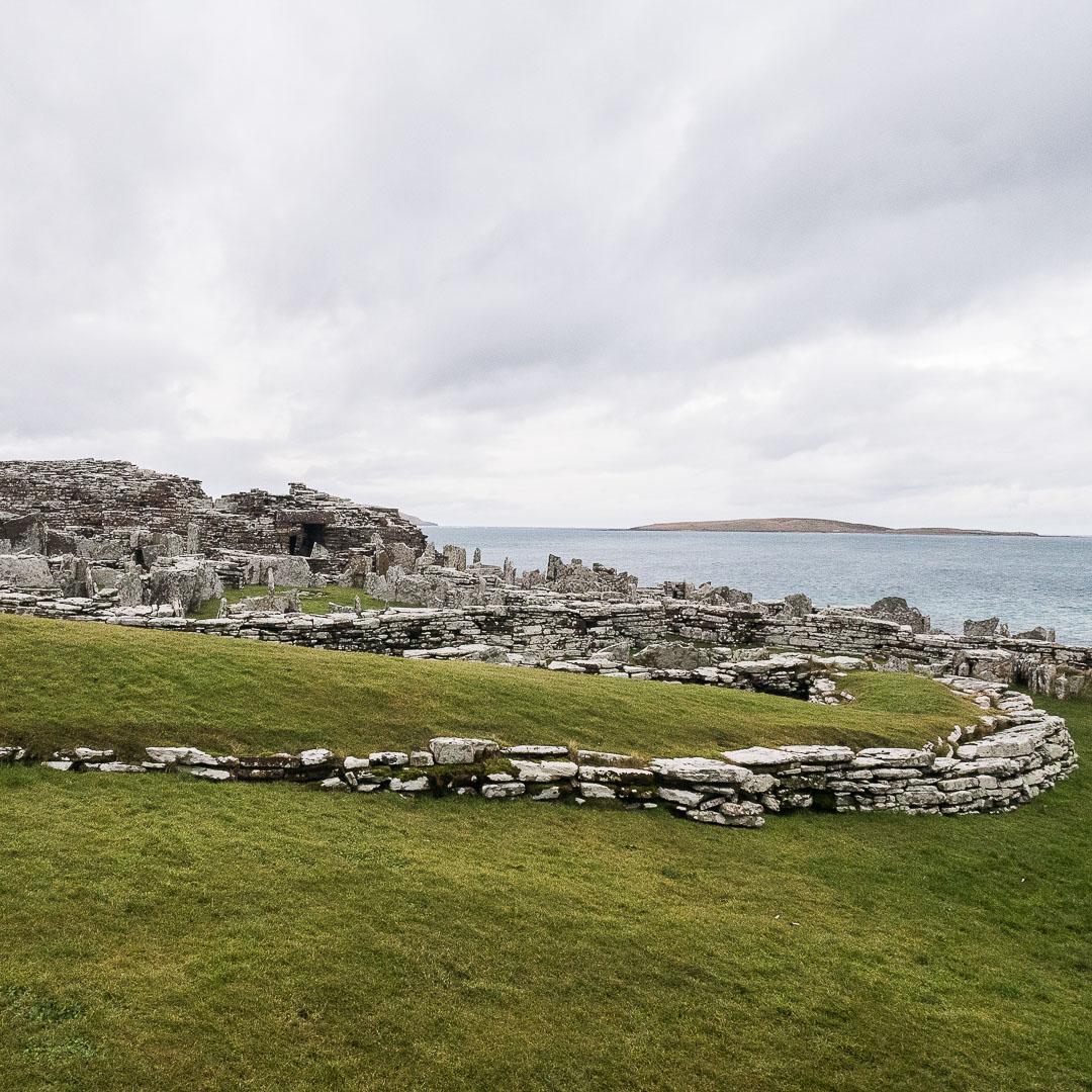 Visiter le Broch of Gurness à Orkney pendant l'hiver