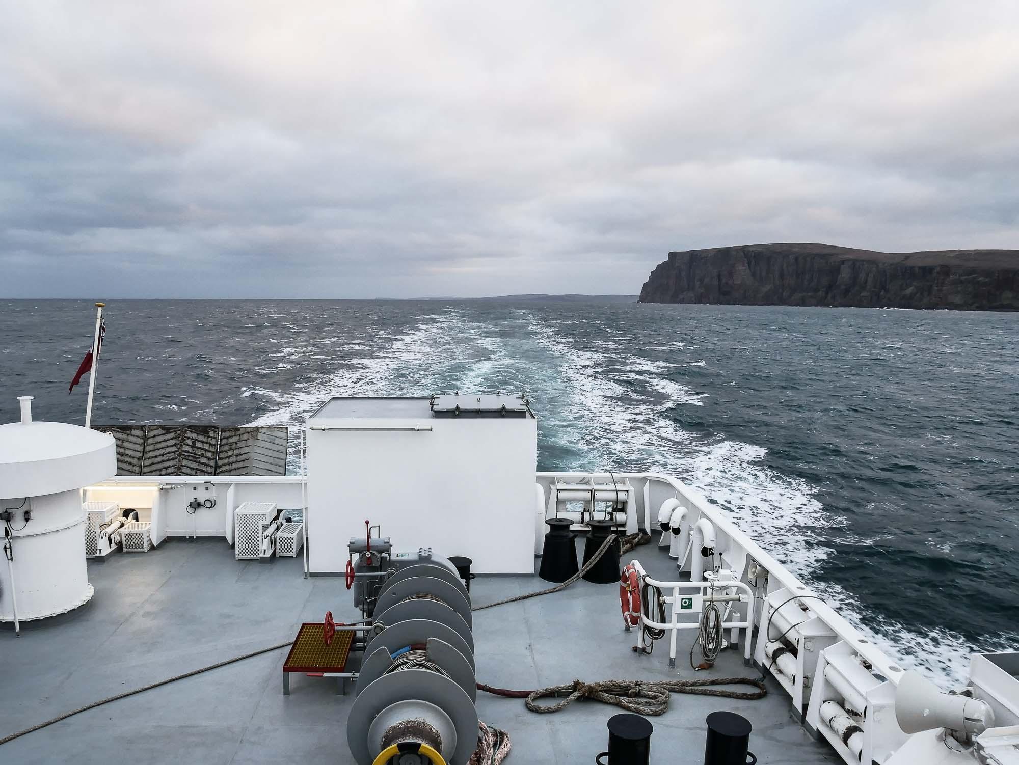 Comment rejoindre les îles Orcades en Ecosse ?