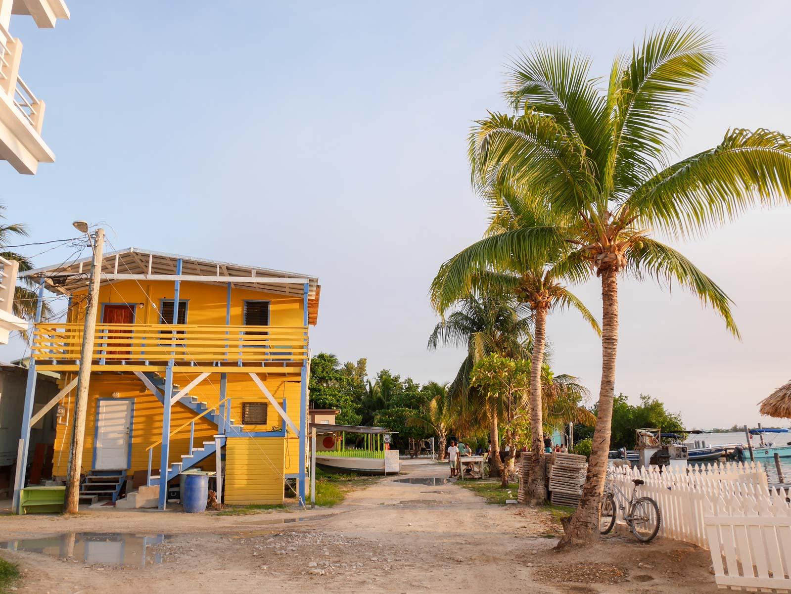 Bienvenue à Caye Caulker, l'île routarde du Belize