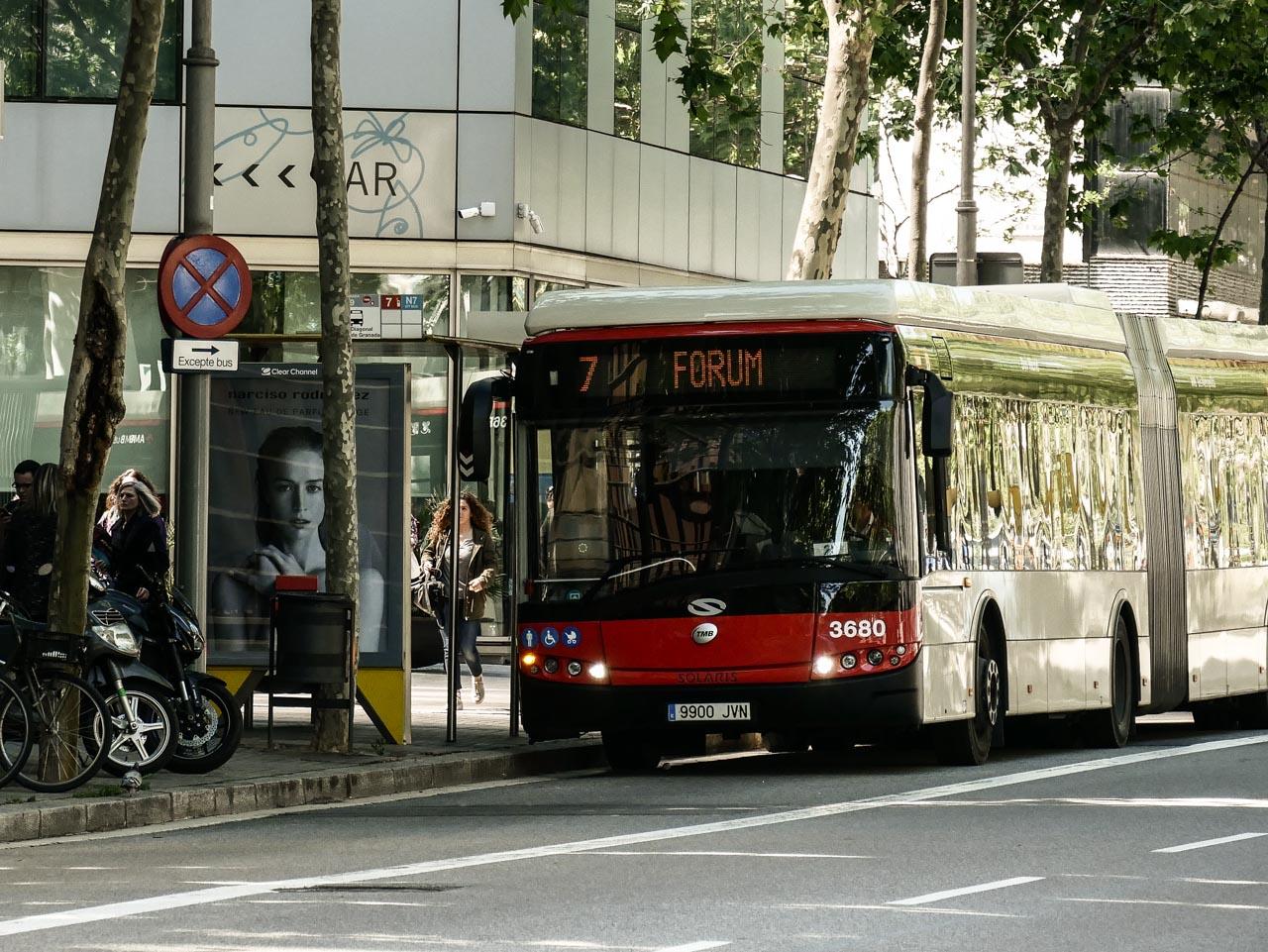 Tout savoir sur le réseau de bus à Barcelone