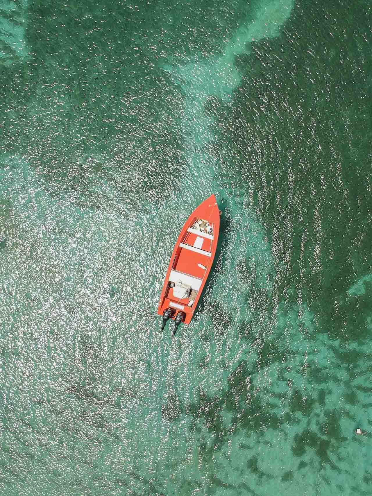 Découvrir les fonds blanc de la mer des Caraïbes