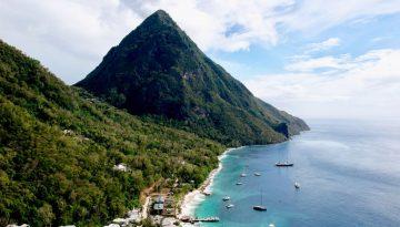 Découvrir les pitons de Sainte Lucie dans les Antilles