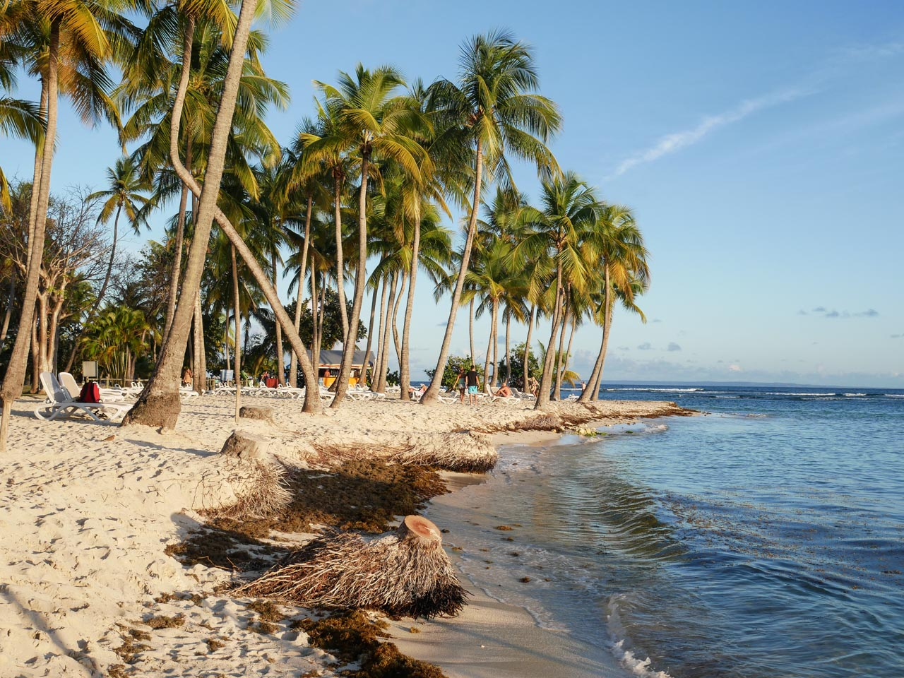 Profiter de la plage pendant un voyage aux Antilles