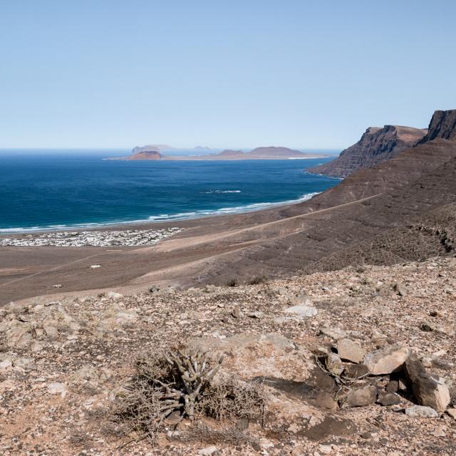 La route des Miradors à l'ouest de Lanzarote