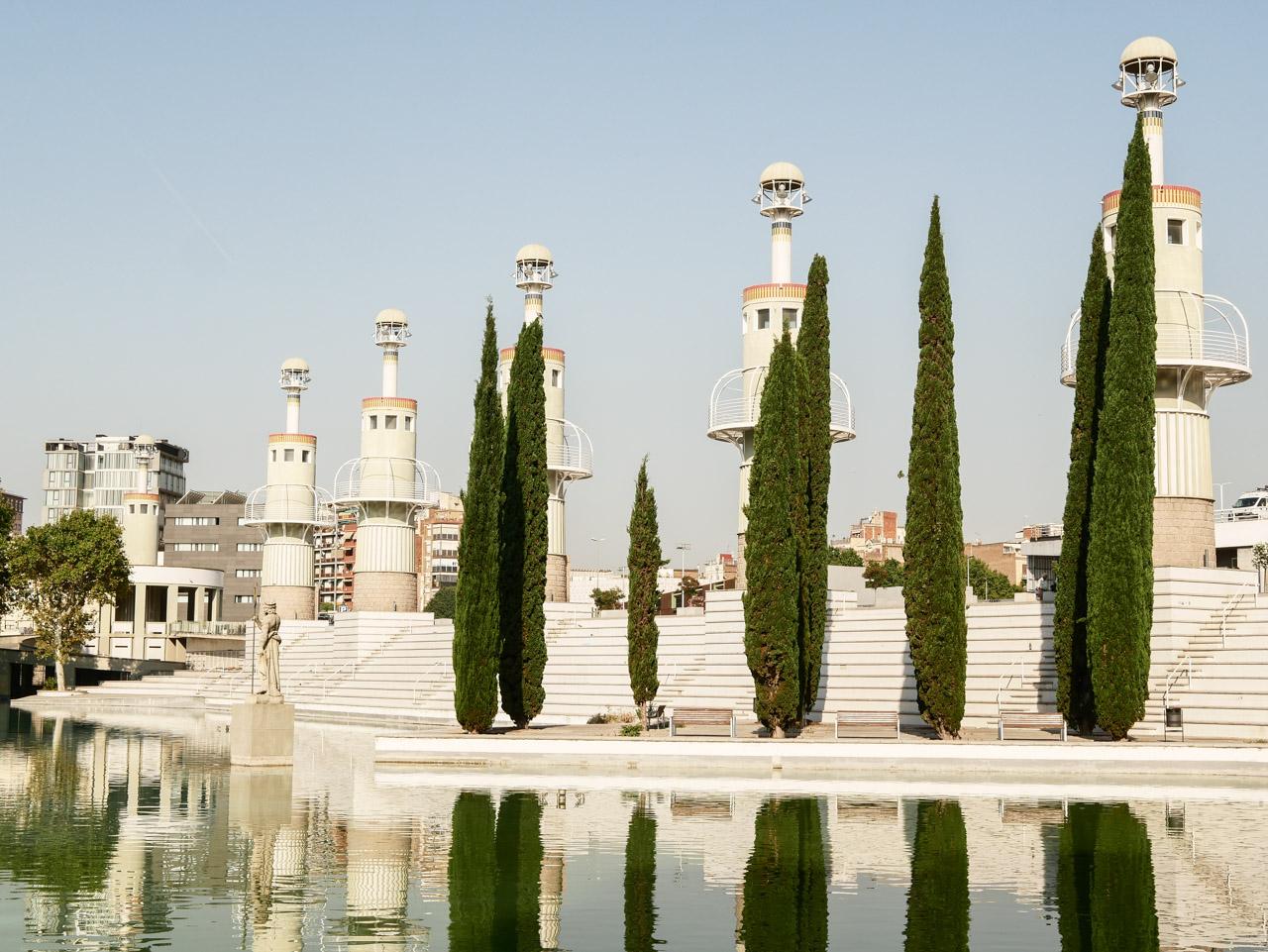 Visiter le parc de l'Espanya Industrial à Barcelone Sants