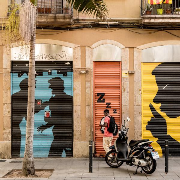 Street photo à Barcelone