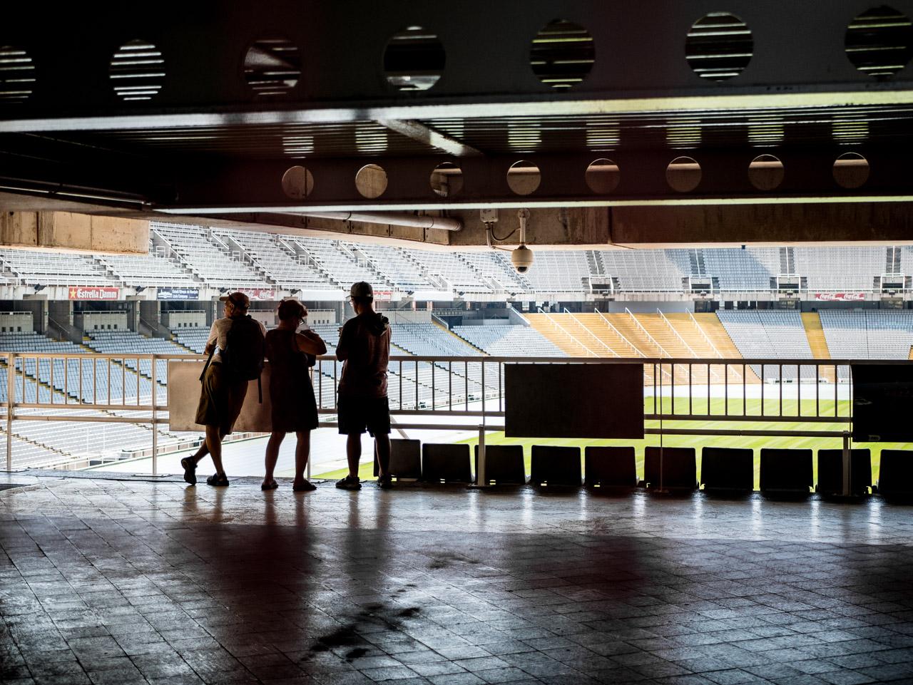 Visiter l'anneau olympique de 1992 à Barcelone
