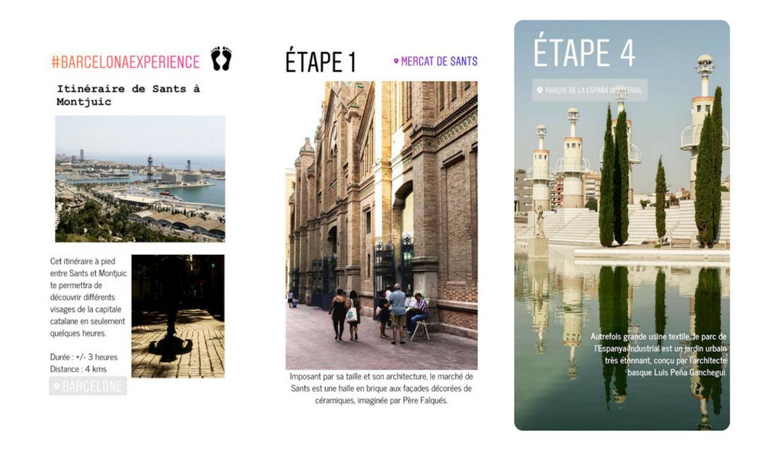 Une story pour découvrir Barcelone