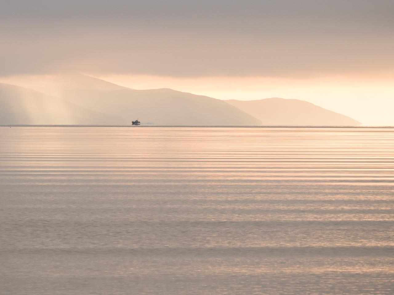 Panorama sur l'île d'Arran en Ecosse