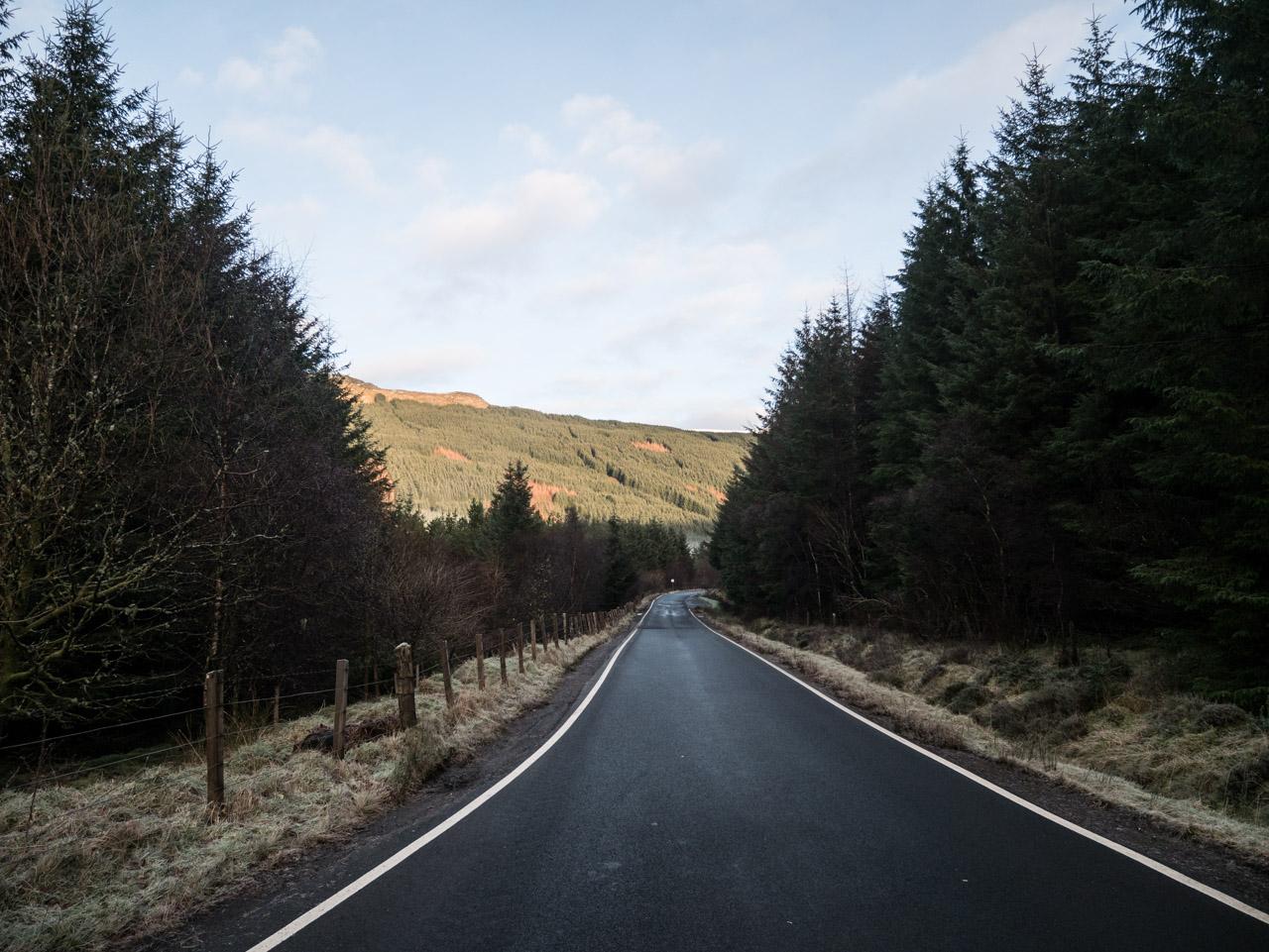Itinéraire sur la côte ouest écossaise