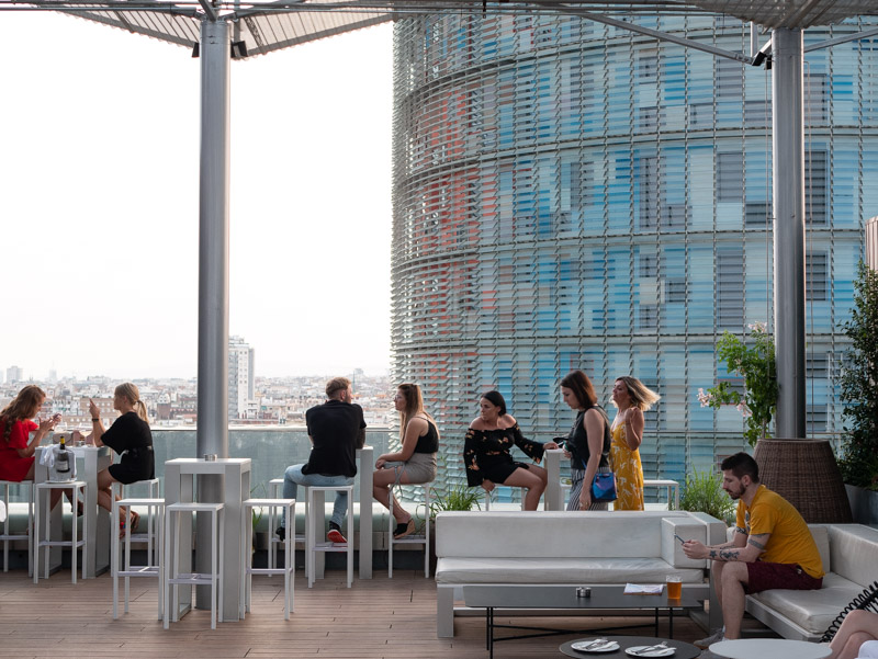 Découvrir les rooftops de Barcelone
