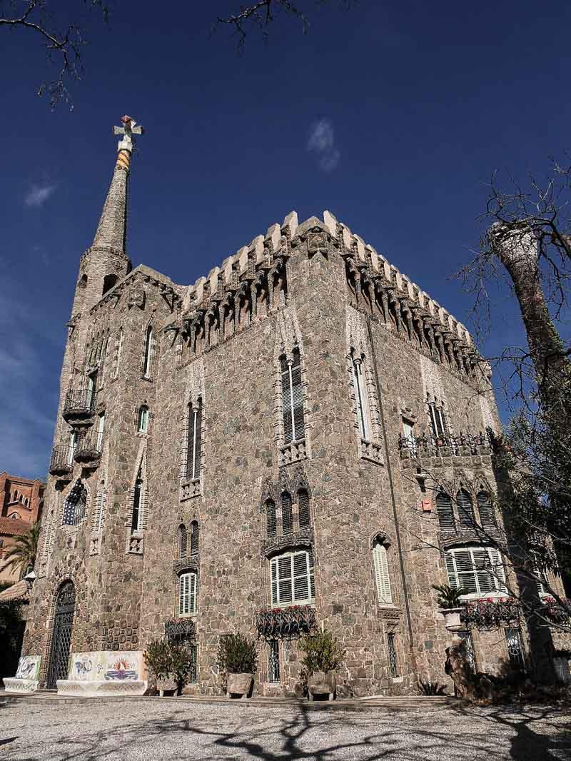 Visiter Barcelone : la torre Bellesguard